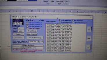 Random number generator program running
