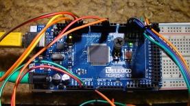 Closeup of Mega 2560