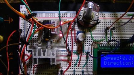 SBT0811 Motor driver board