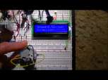 LCD displaying direction <