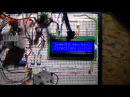 LCD displaying direction >