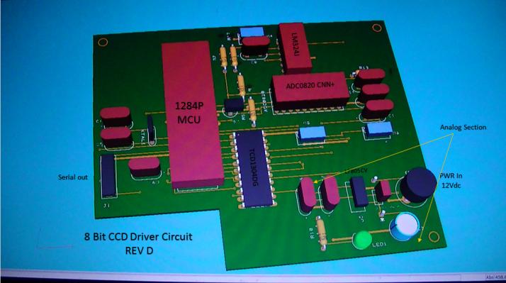 3D PCB view 1A