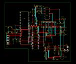 3D PCB view 1B
