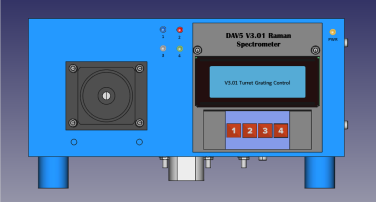 DAV5 V3.01 Raman Spectrometer Presently