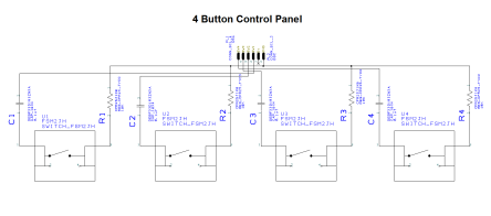 4button control panel SCH PNG
