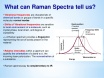 what can raman spectra tell us july24