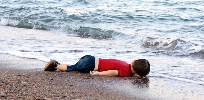 6 year old syrian boy washed up on shore