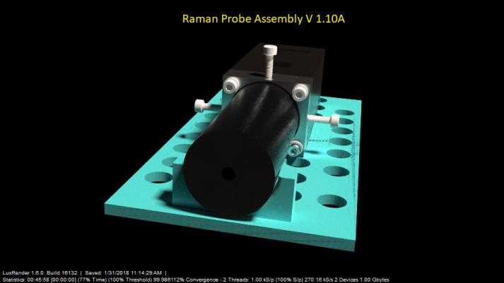 Raman Probe assembly model scan 5 J31
