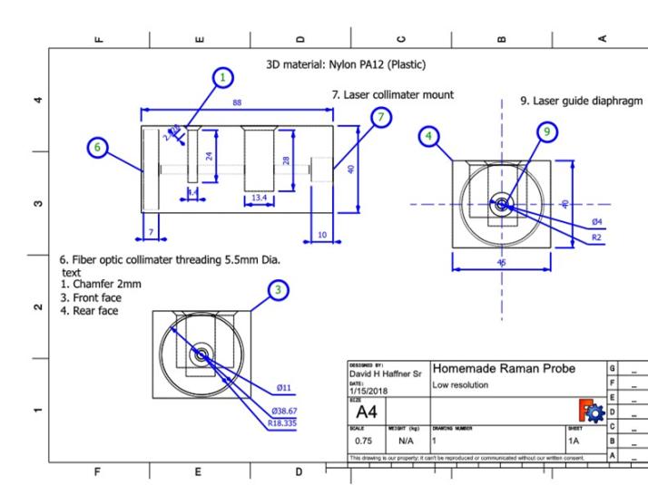 Raman probe drawing FEB 02