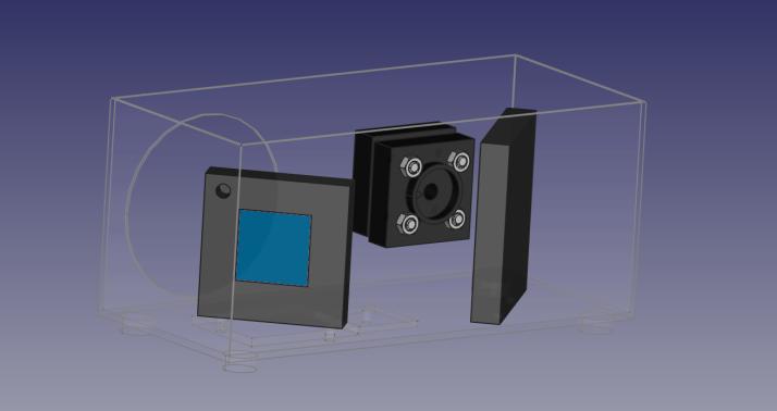 Spectrometer enclosure complete assmbly FEB 2 V2